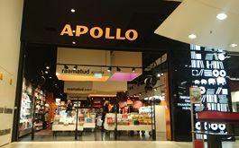 Apollo raamatupood Lasnamäe Centrumis