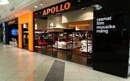 Kristiine Apollo raamatupood Tallinnas