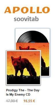 Apollo Soovitab17: Prodigy-The_Days_is_My_Enemy CD ja LP