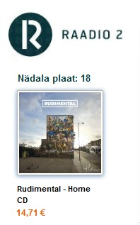 R2 nädala plaat 18: RUDIMENTAL- Home