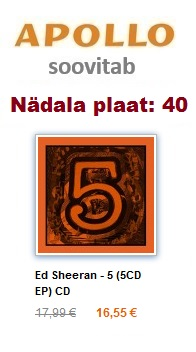 Ed Sheeran - 5 (5CD EP) CD